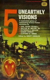 book cover of 5 Unearthly Visions