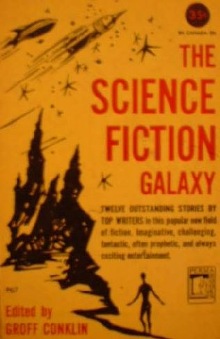 book cover of The Science Fiction Galaxy