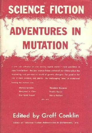 book cover of Science Fiction Adventures in Mutation