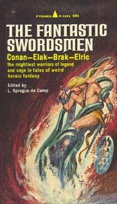book cover of The Fantastic Swordsmen