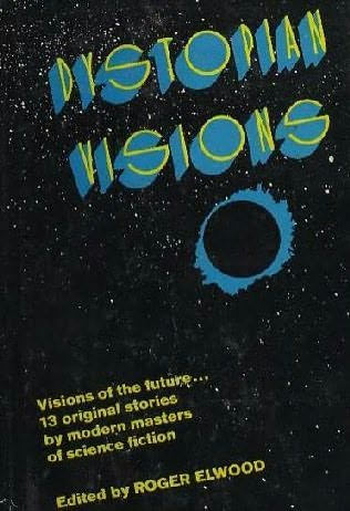 book cover of Dystopian Visions