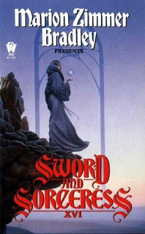 book cover of Sword and Sorceress XVI