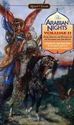book cover of The Arabian Nights, Volume II