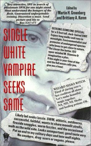 book cover of Single White Vampire Seeks Same