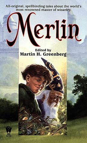 book cover of Merlin