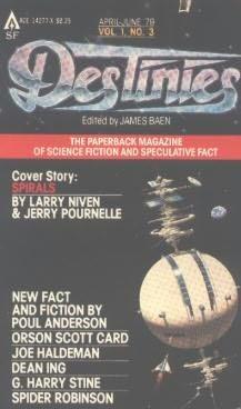 book cover of Destinies, No. 1