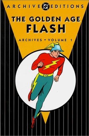 book cover of The Golden Age Flash : Archives
