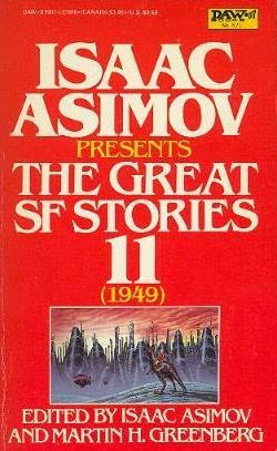 book cover of The Great SF Stories 11