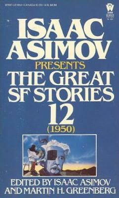 book cover of The Great SF Stories 12