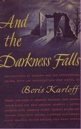 book cover of And the Darkness Falls