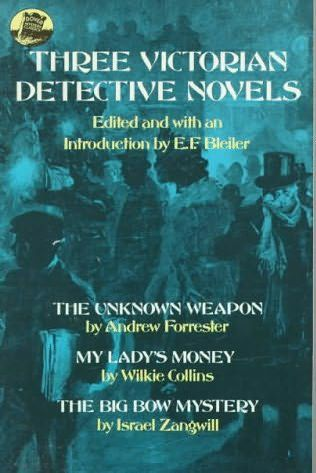 book cover of Three Victorian Detective Novels