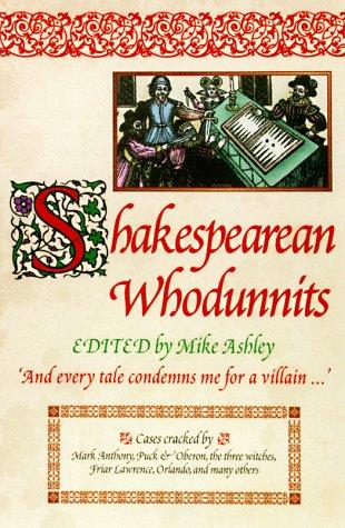 book cover of Shakespearean Whodunnits
