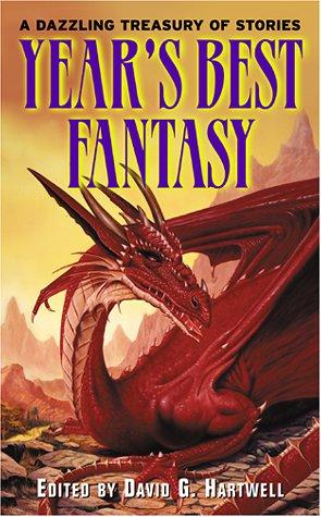 book cover of Year\'s Best Fantasy