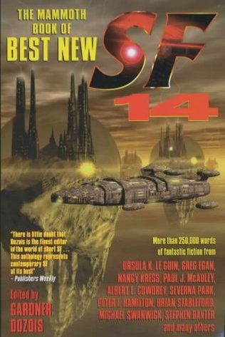 book cover of The Mammoth Book of Best New Science Fiction 14th Annual Collection
