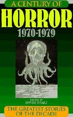 book cover of A Century of Horror 1970-1979