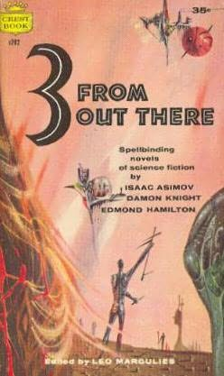 book cover of Three from Out There