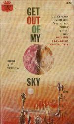 book cover of Get Out of My Sky
