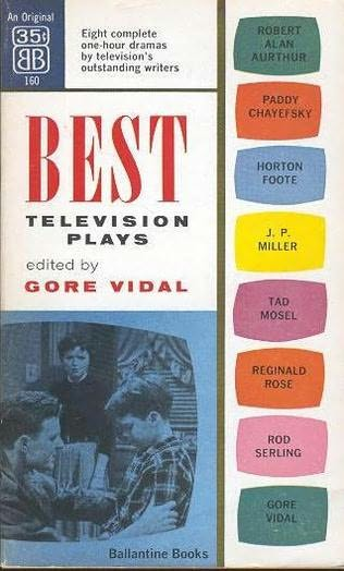 book cover of Best Television Plays