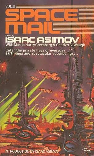 book cover of Space Mail