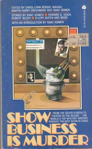 book cover of Show Business Is Murder