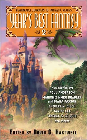 book cover of Year\'s Best Fantasy 2