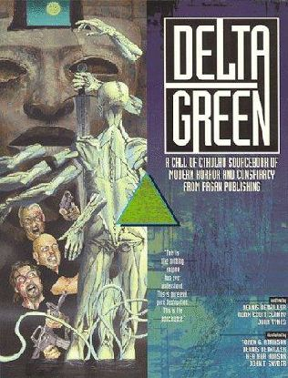 book cover of Delta Green