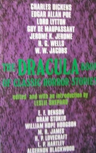 book cover of The Dracula Book of Classic Horror Stories
