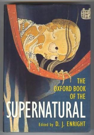 book cover of The Oxford Book of the Supernatural