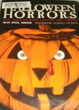 book cover of Hallowe'en Horrors