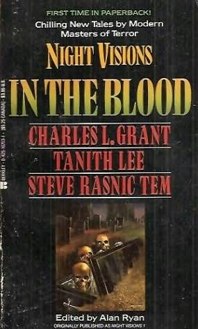 book cover of Night Visions : In the Blood