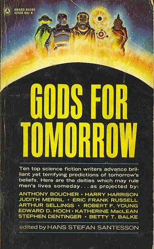 book cover of Gods for Tomorrow