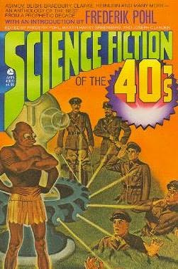 book cover of Science Fiction of the 40s