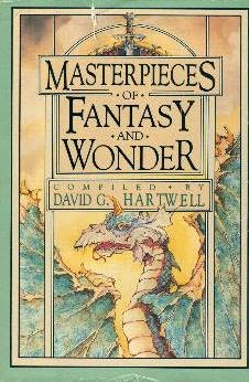 book cover of Masterpieces of Fantasy and Wonder