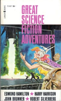 book cover of Great Science Fiction Adventures