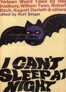 book cover of I Can\'t Sleep at Night