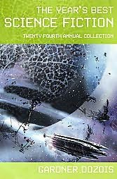 book cover of The Year\'s Best Science Fiction Fourth Annual Collection