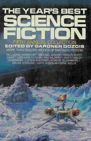 book cover of The Year\'s Best Science Fiction Fifth Annual Collection