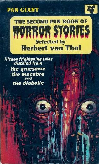 book cover of The 2nd Pan Book of Horror Stories