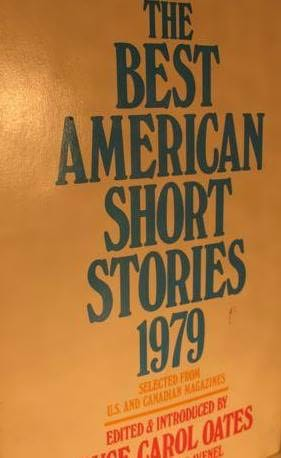 book cover of The Best American Short Stories 1979