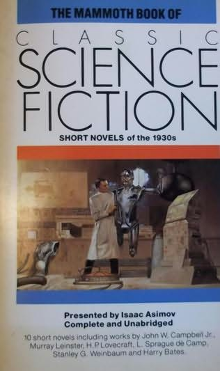book cover of The Mammoth Book of Classic Science Fiction