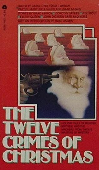 book cover of The Twelve Crimes of Christmas