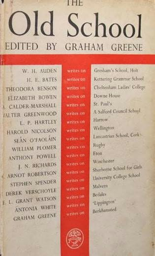 book cover of The Old School