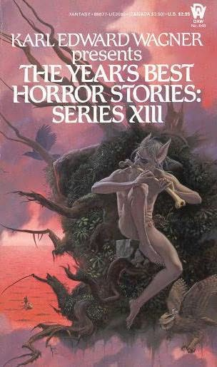 book cover of The Year\'s Best Horror Stories XIII