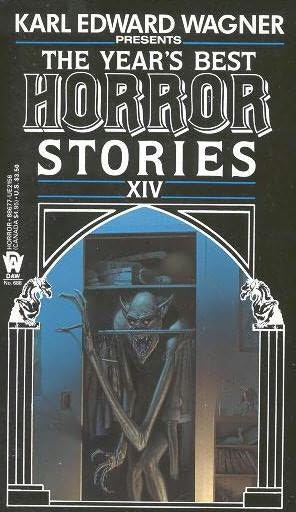 book cover of The Year\'s Best Horror Stories XIV