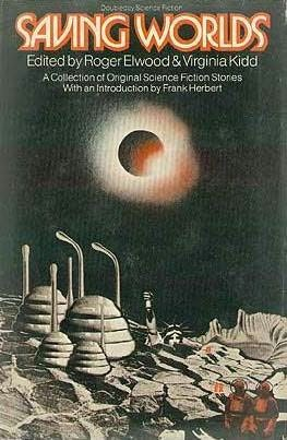 book cover of Saving Worlds