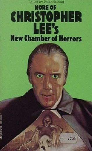 book cover of More of Christopher Lee\'s New Chamber of Horrors