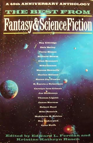 book cover of The Best from Fantasy and Science Fiction: A 45th Anniversary Anthology