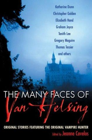 book cover of The Many Faces of Van Helsing