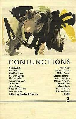 book cover of Conjunctions : 3
