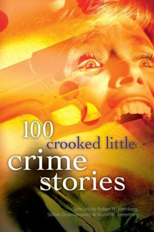 book cover of 100 Crooked Little Crime Stories